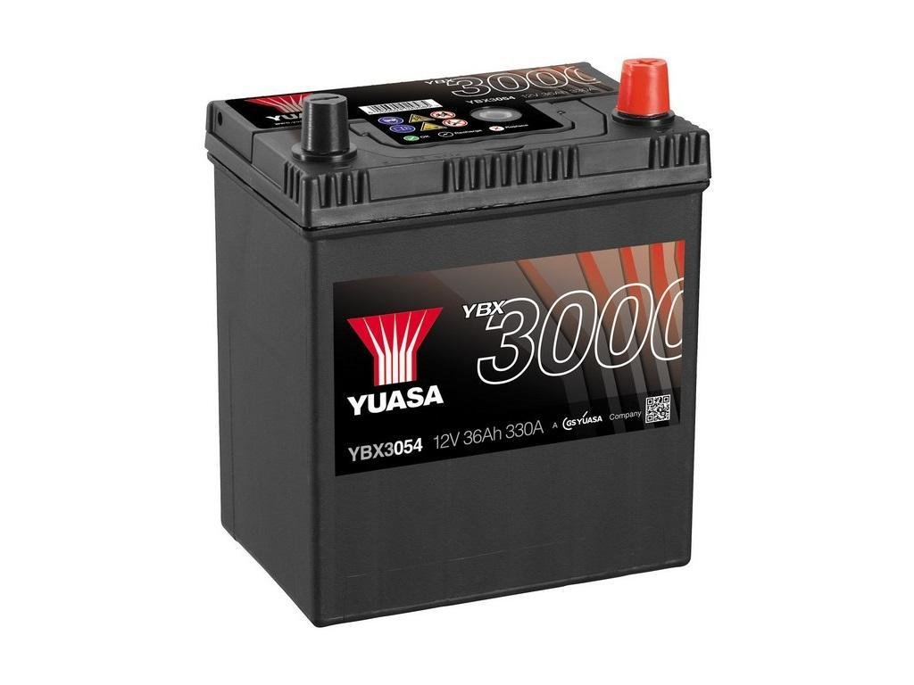 yuasa ybx3054 autobatterie 12v 36ah 330a starterbatterie. Black Bedroom Furniture Sets. Home Design Ideas