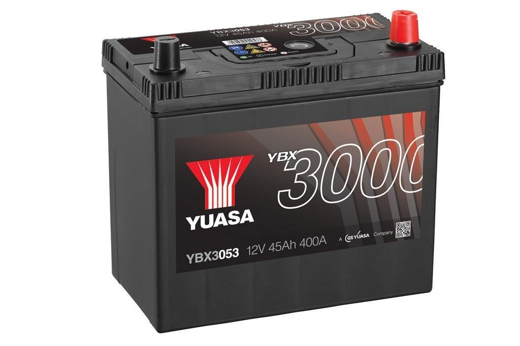 yuasa ybx3053 autobatterie 12v 45ah 400a starterbatterie. Black Bedroom Furniture Sets. Home Design Ideas