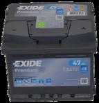 Autobatterie 12V 47Ah 450A EA472 Exide Premium Carbon Boost