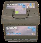 Autobatterie 12V 53Ah 540A EA530 Exide Premium Carbon Boost