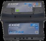 Autobatterie 12V 61Ah 600A EA612 Exide Premium Carbon Boost