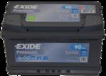 Autobatterie 12V 90Ah 720A EA900 Exide Premium Carbon Boost