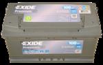 Autobatterie 12V 100Ah 900A EA1000 EXIDE Premium Carbon Boost