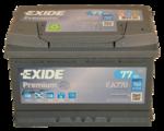 Autobatterie 12V 77Ah 760A EA770 Exide Premium Carbon Boost