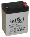 intAct 12V 2,9Ah AGM Block-Power BP12-2.9 Versorgungsbatterie