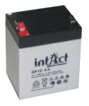 intAct 12V 4Ah AGM Block-Power BP12-4 Versorgungsbatterie
