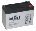 intAct 12V 10Ah AGM Block-Power BP12-10 Versorgungsbatterie