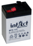 intAct 6V 4Ah AGM Block-Power BP6-4 Versorgungsbatterie