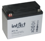 intAct 6V 20Ah AGM Block-Power BP6-20 Versorgungsbatterie